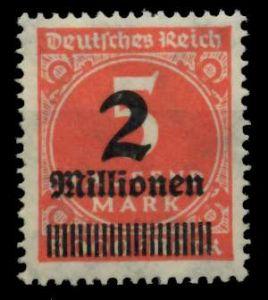 D-REICH INFLA Nr 312Aa postfrisch 724A5E
