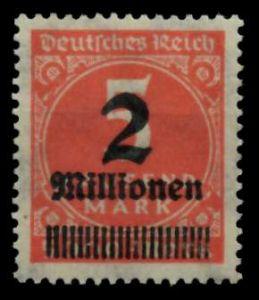 D-REICH INFLA Nr 312Aa postfrisch 724A6A