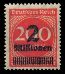 D-REICH INFLA Nr 309APa postfrisch 724A82