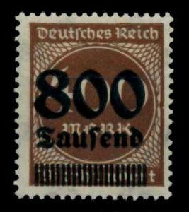D-REICH INFLA Nr 305A postfrisch S26CA0E