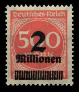D-REICH INFLA Nr 311A postfrisch S26CA22