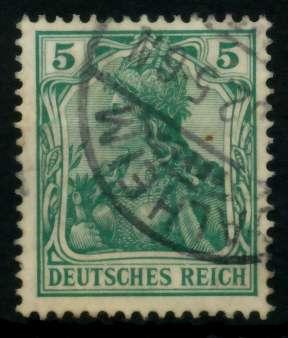 D-REICH GERMANIA Nr 70b gestempelt 726DF2