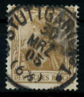 D-REICH GERMANIA Nr 69a zentrisch gestempelt 726DFA