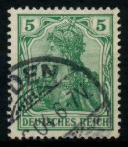 D-REICH GERMANIA Nr 70b gestempelt 726DFE
