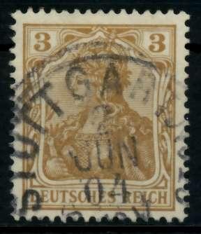 D-REICH GERMANIA Nr 69a gestempelt 726E06