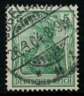 D-REICH GERMANIA Nr 70b gestempelt 726E32