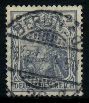 D-REICH GERMANIA Nr 68 zentrisch gestempelt 726E66