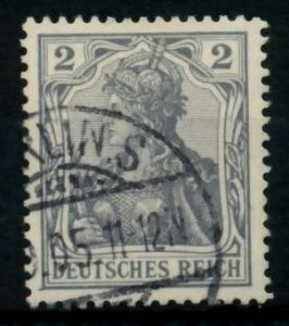 D-REICH GERMANIA Nr 68 gestempelt 726E86