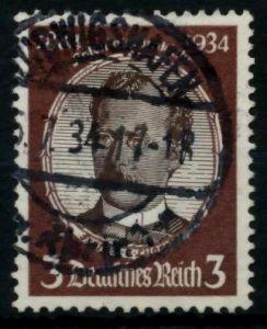 3. REICH 1934 Nr 540ya gestempelt 7294A2
