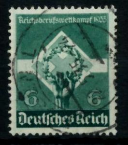3. REICH 1935 Nr 571 gestempelt 7295AE