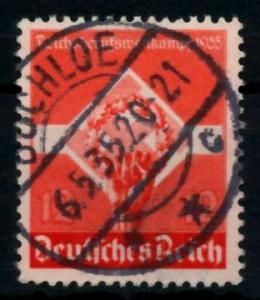 3. REICH 1935 Nr 572y zentrisch gestempelt 7295BE