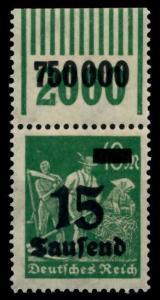 D-REICH INFLA Nr 279bW OR 1-11-1 postfrisch ORA 72B6AE