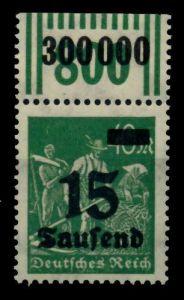 D-REICH INFLA Nr 279bW OR 2-9-2 postfrisch ORA 72B6DE