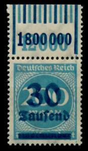 D-REICH INFLA Nr 285W OR 1-11-1 1-5-1 postfrisch ORA 72B6FE