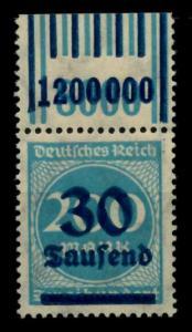 D-REICH INFLA Nr 285W OR 2-9-2 1-5-1 postfrisch ORA 72B702