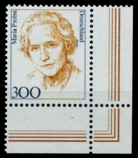 BRD DS FRAUEN Nr 1956 postfrisch ECKE-URE 73055E
