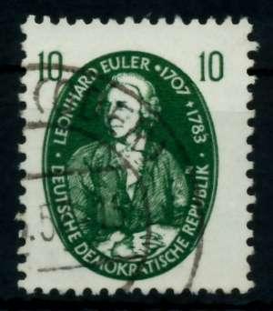 DDR 1957 Nr 575 gestempelt 735FFA