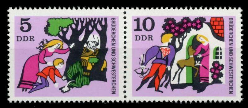 DDR ZUSAMMENDRUCK Nr WZd 214 mit 1546I postfrisch WAAGR 73CDEE