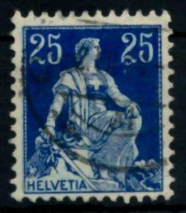 SCHWEIZ 1908 Nr 103 gestempelt 746A9E
