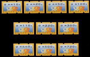 BRD ATM 1999 Nr 3-3-VS2 postfrisch S2E3292