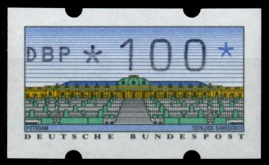 BRD ATM 1993 Nr 2-1.1-0100Rw postfrisch S2EEC3A