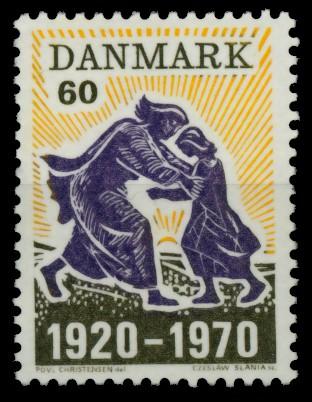 DÄNEMARK Nr 497 postfrisch 90DF82