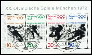 BRD BLOCK KLEINBOGEN 1949 1989 Block 6 ESST-BON S4DFBB2