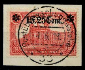 BES 1WK ETAPPE WEST Nr 11IB zentrisch gestempelt Briefst³ck 779662