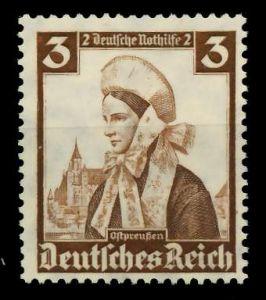 3. REICH 1935 Nr 588 postfrisch 77D386