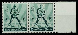 3. REICH 1940 Nr 745 postfrisch WAAGR PAAR SRA 77D66A