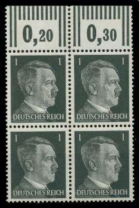 3. REICH 1941 Nr 781a postfrisch VIERERBLOCK ORA 780066