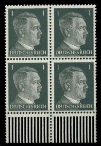 3. REICH 1941 Nr 781a postfrisch VIERERBLOCK URA 78005E