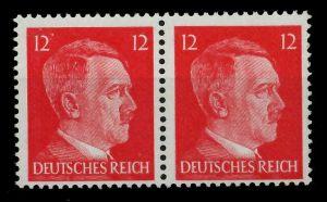3. REICH 1942 Nr 827 postfrisch WAAGR PAAR 780252