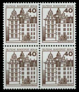 BERLIN DS BURGEN u. SCHLÖSSER Nr 614 postfrisch VIERERB 782F1A