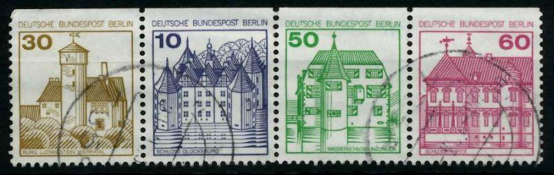 BERLIN ZUSAMMENDRUCK Nr W75 gestempelt 3ER STR 7847DE