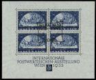 ÖSTERR. 1933 WIPA BLOCK 1 gestempelt Block1 787E42