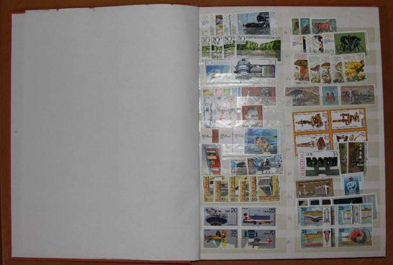 DDR Sammlung von 1980-1989 postfrisch 78806A