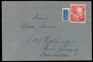 BRD 1949 Nr 112 BRIEF EF 78B396
