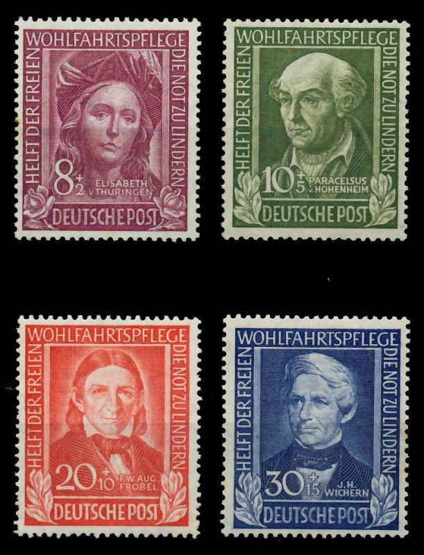 BRD 1949 Nr 117-120 ungebraucht 78B3EE