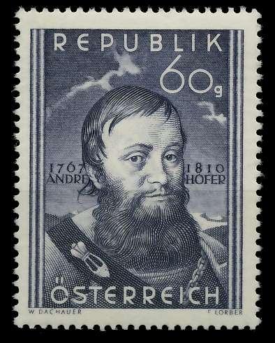 ÖSTERREICH 1950 Nr 949 postfrisch 79012E