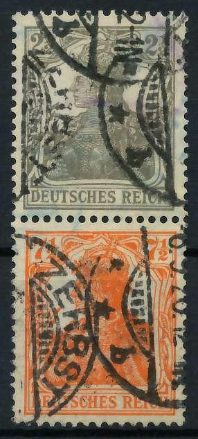 D-REICH ZUSAMMENDRUCK Nr S11b gestempelt SENKR PAAR 792716