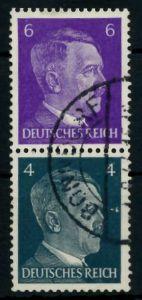 D-REICH ZUSAMMENDRUCK Nr S292 gestempelt SENKR PAAR 79508A