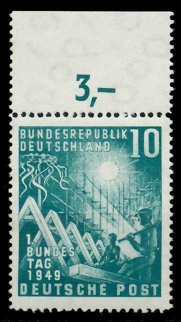 BRD 1949 Nr 111 postfrisch ORA 79546A