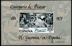 SPANIEN Block 23I postfrisch S3CBE2A