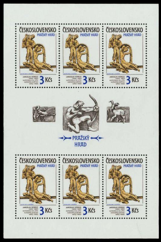 CSSR Nr 2865KB-2866KB postfrisch KLEINBG S3CBE7A 1