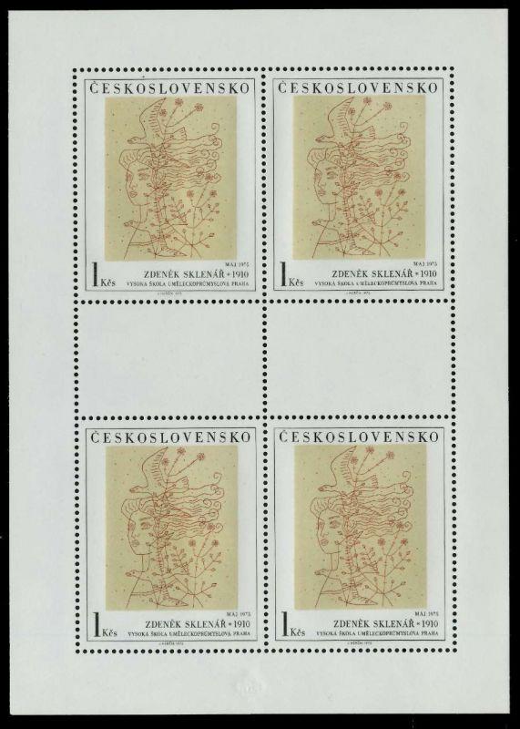 CSSR Nr 2294KB-2298KB postfrisch KLEINBG 797722