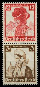 D-REICH ZUSAMMENDRUCK Nr S235 postfrisch SENKR PAAR 7A19B6