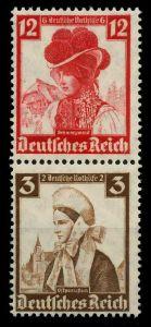 D-REICH ZUSAMMENDRUCK Nr S235 postfrisch SENKR PAAR 7A19C2