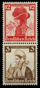 D-REICH ZUSAMMENDRUCK Nr S235 postfrisch SENKR PAAR 7A19D6