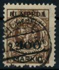 MEMEL 1923 Nr 128 zentrisch gestempelt gepr. 7B2452